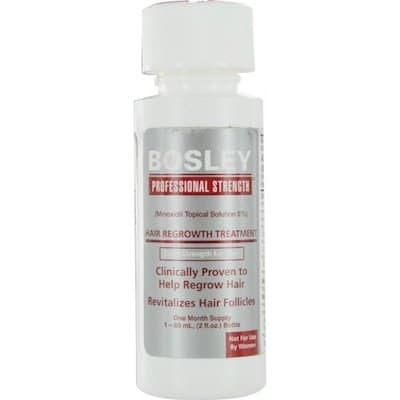 Bosley by Hair Regrowth Treatment, Extra Strength for Men