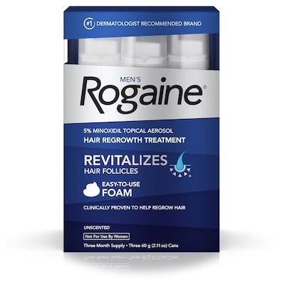 Rogaine Hair Re-growth Treatment - for Men