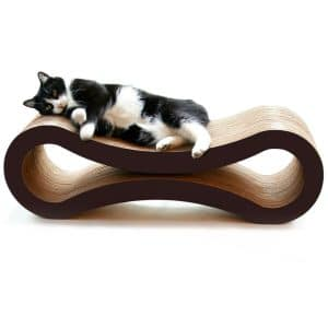 PetFusion Ultimate Cat Scratcher Lounge. [Superior Cardboard & Construction]