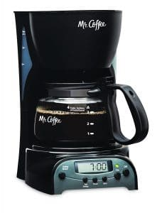 Mr. Coffee 4-Cup Programmable Coffeemaker