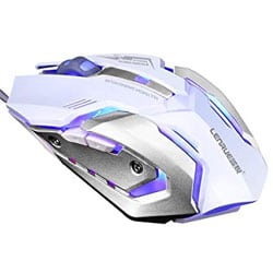 LENRUE Gaming Mouse with LED: When It Has To Look Cool Too