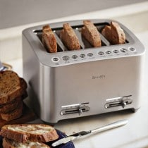 Top Ten Best 4 Slice Toaster Reviews For 2018: Choose A Compact Design Or Full Size Retro Look For A Modern Kitchen