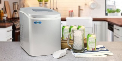 Top Ten Best Portable Ice Maker Reviews For 2018: From Commercial To Mini Countertop Machines