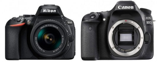 Comparing The Nikon D5600 Vs. The Canon 80D – Which DSLR Is for you?